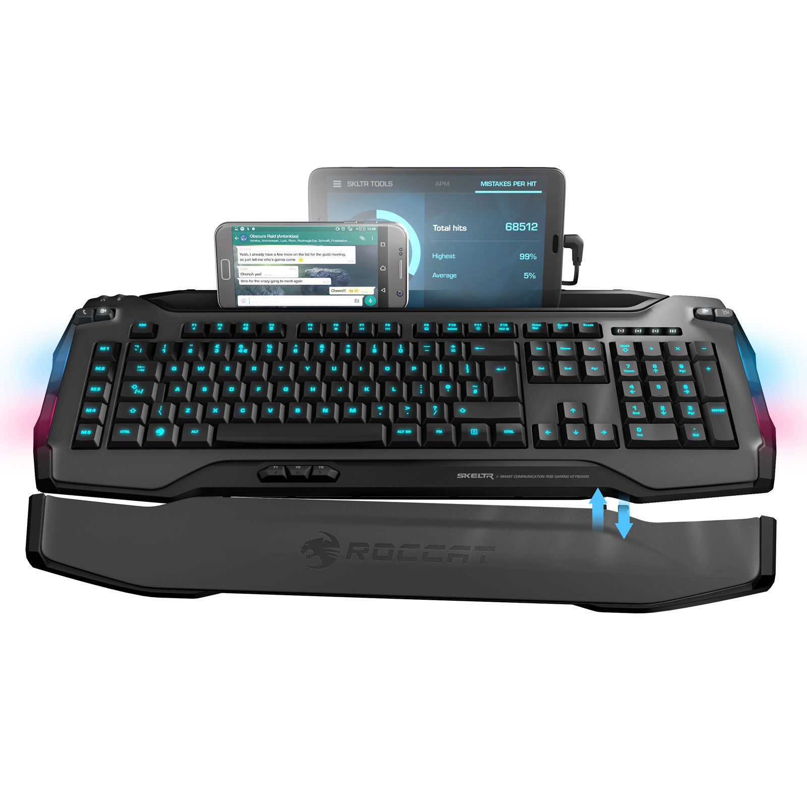 Skeltr Grey, Smart Communication RGB