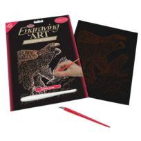 Royal & Langnickel - Copf20 Art De La Gravure Sur Cuivre Taille A4 Faucons