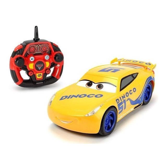 Dickie Toys- Rc Cars 3 Ultimate Cruz Ramirez Voiture de Course avec télécommande Radio à 3 canaux, 203086006