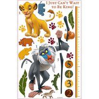 Roommates - Stickers géant Toise Le Roi Lion Disney