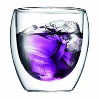 BODUM - PAVINA Set 2 verres, double paroi, 0.25 l