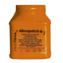 Decopatch - Vernis colle pailleté Décopatch 150 gr