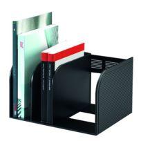 Durable - Serre-livres Optimo anthracite - Lot de 2
