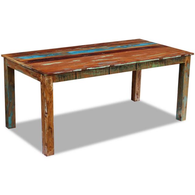 Vidaxl Table de salle à manger Bois récupération 180x90x76 cm