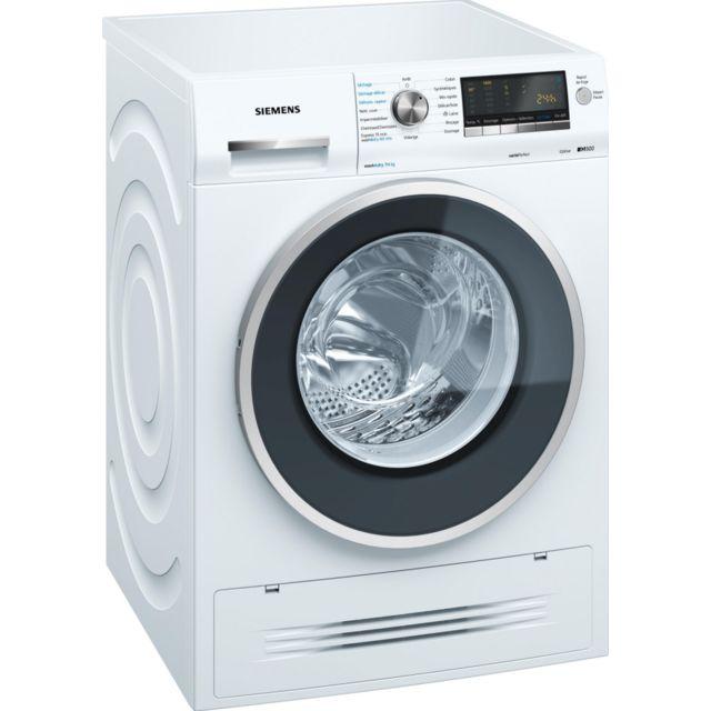 siemens lave linge s chant 60cm 7kg 1400t a blanc. Black Bedroom Furniture Sets. Home Design Ideas