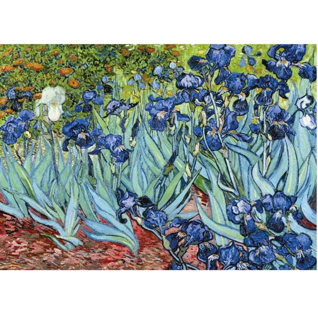 Ravensburger puzzle 1000 pièces van gogh les iris