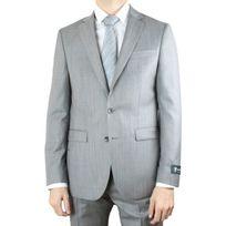 Dormeuil - Costume tissus gris Faf