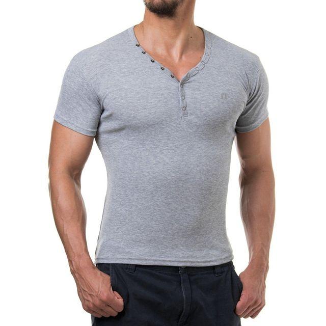 Young And Rich - T shirt homme tendance T shirt 873 gris clair XXL - pas  cher Achat   Vente Tee shirt homme - RueDuCommerce 793c7f1a54ce
