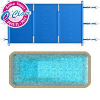 Piscine Center O'CLAIR - Bâche à barres Pool-Barres Plus rectangle pour piscine coque Piscine Provence Polyester Mega-Pool Evasion