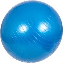 Gorilla Sports - Swiss ball - Ballon de gym de plusieurs tailles 55cm, 65cm, 75cm et en couleurs : bleu, gris, fuchsia, noir, rouge, vert
