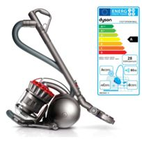DYSON - Aspirateur sans sac acba - 80 dB - 600 W - Rouge/Gris