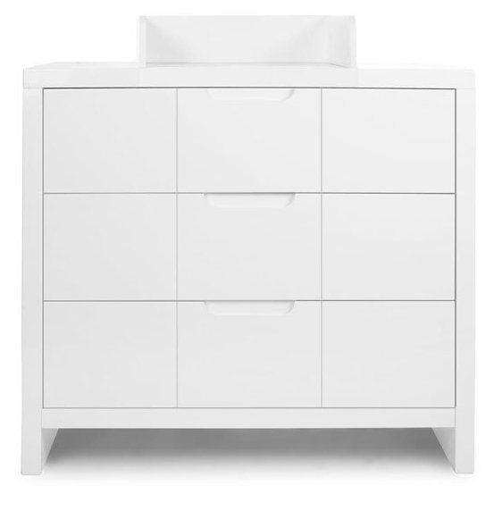 childwood commode langer 3 tiroirs quadro blanc pas cher achat vente commode enfant. Black Bedroom Furniture Sets. Home Design Ideas