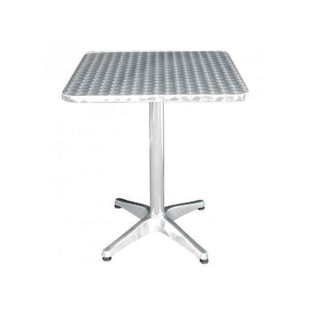 Materiel Chr Pro Table de bistro carrée Métal 600 mm - Bolero