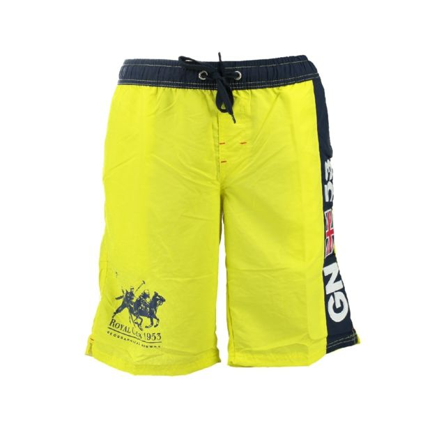 3b6ed28007 Geographical Norway - Maillot de Bain Geographical Norway Quatar Men Jaune