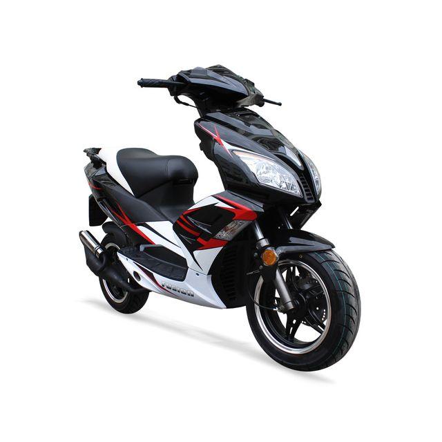 Jiajue - Scooter 50cc 2T - Fusion 50 Noir