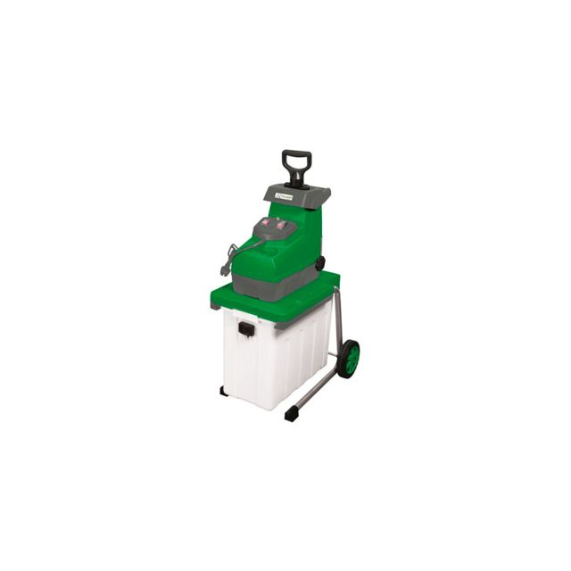 Ribiland - Broyeur végétaux à rotor, 2 800 W 230 V - bac 60 L - D. branches 44 mm - Prbvb2800