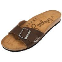 Pepe Jeans - Claquettes mules Bio man new brown Marron 21185