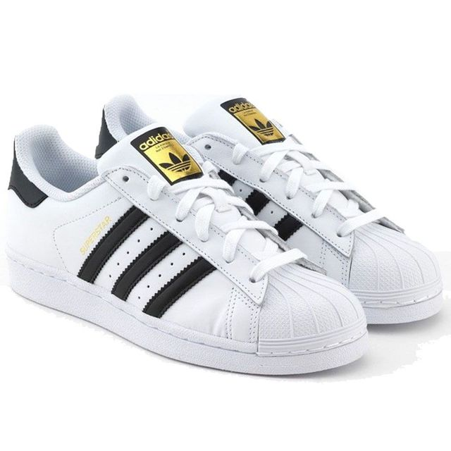 plus récent bf16b 0b85e Adidas originals - Superstar Fondation C77154 Blanc - Noir ...