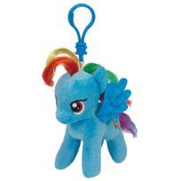 Speckles Beanie Boo - Porte-clés Ty Mon Petit Poney : Rainbow Dash