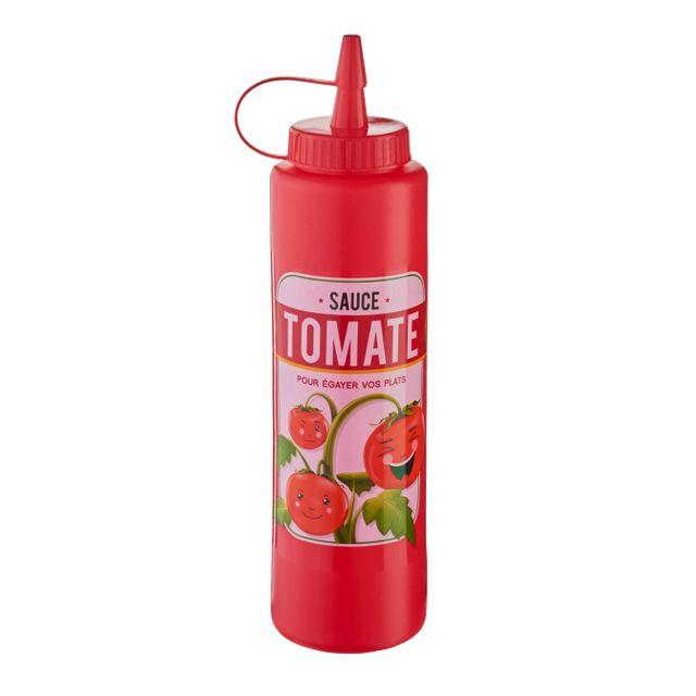 RUE DU COMMERCE Pousse-sauce tomate rouge
