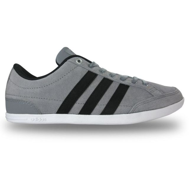 Adidas Chaussure caflaire grise gris anthracite pas cher