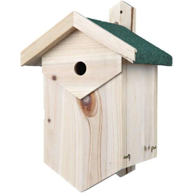 NICHOIR - NID Nichoir nichant dans les cavités, 25 × 40 × 22 cm et ø 2,7 cm - Pour oiseau