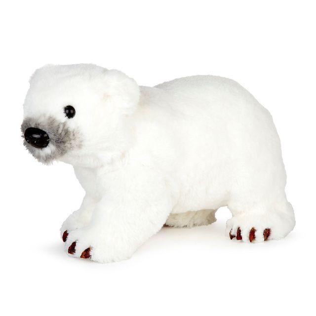 Alinéa - Forêt glacée Ours blanc toucher doux H17cm - pas cher Achat ... f3a67fd8353