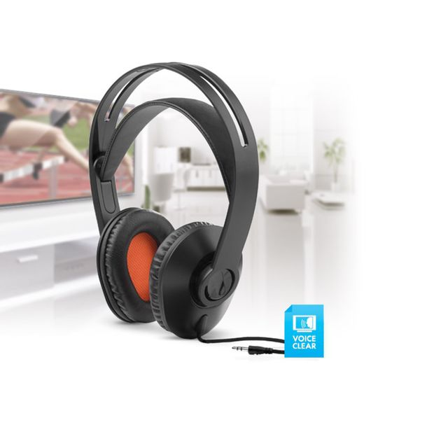 One For All Casque Tv Filaire Hp1010 Pas Cher Achat Vente Casque