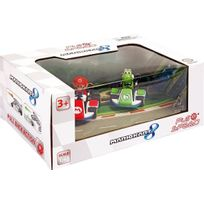 Pull and Speed - Mario Kart 8 pack 2 voitures à friction 1/43 Mario & Yoshi