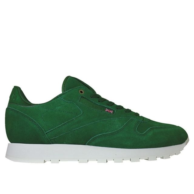 67e3aa8c06475 Reebok - Classic Leather Montana Cans Collaboration - pas cher Achat    Vente Baskets homme - RueDuCommerce