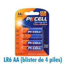 ARUMLIGHTING - Piles AA LR6 Ultra Alcaline PKCell 1.5V