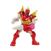 POWER RANGERS DINO SUPER CHARGE - Figurine Mixx N'Morph 16 cm - Ranger Dino Charge Rouge T-Rex - 43085