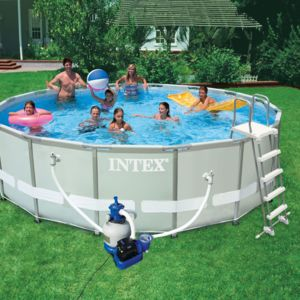 bache piscine intex ultra frame