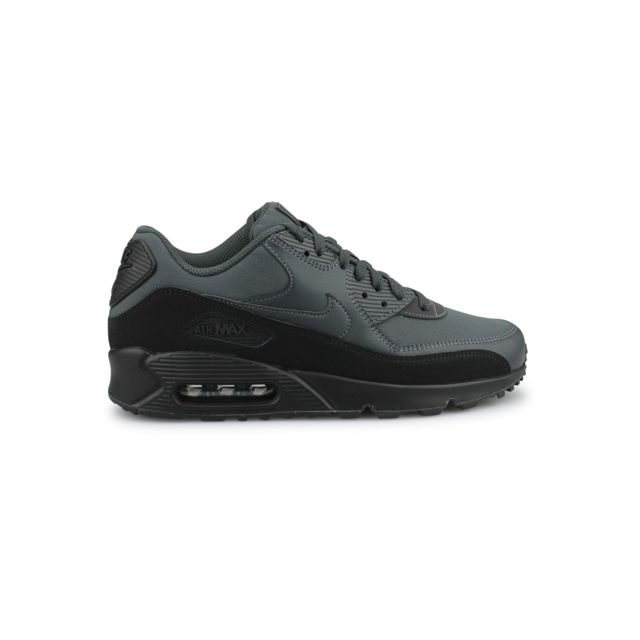 new product 40a07 bfd62 Nike - Air Max 90 Essential Noir Aj1285-009 - pas cher Achat   Vente Baskets  homme - RueDuCommerce