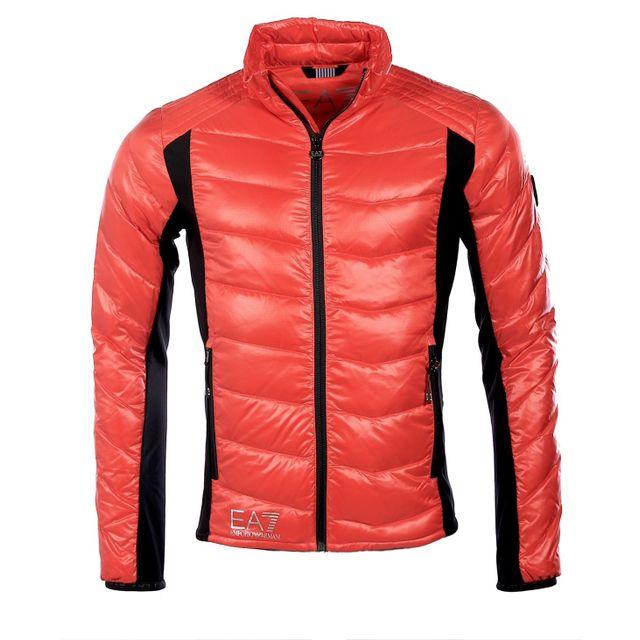 Armani - Ea7 - Emporio Homme - Doudoune légère Technic rouge 6XPB48 - pas  cher Achat   Vente Blouson homme - RueDuCommerce 1ca1f4d6324
