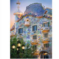 Dtoys - Puzzle 1000 pièces - Découverte de l'Europe : Casa Batllo,Barcelone, Espagne