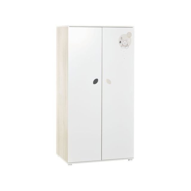 Baby Price Winnie - armoire 2 portes winter retreat