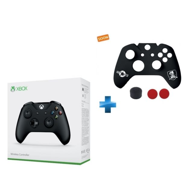 MICROSOFT - Manette Sans Fil Xbox - Nottingham + Custome Kit FPS Xbox One