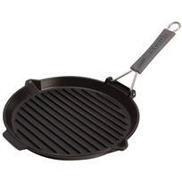 STAUB - grill rond fonte 27cm noir - 1202023