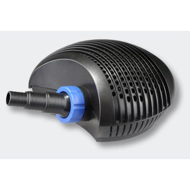Helloshop26 Pompe à eau de bassin filtre filtration cours d'eau eco 7000l/h 50 Watts 4216039