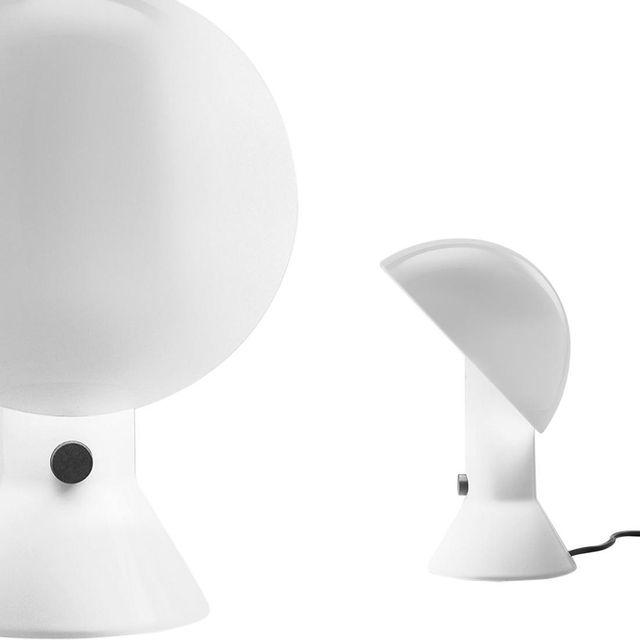 Martinelli Luce - Elmetto - Lampe à poser Blanc H28cm