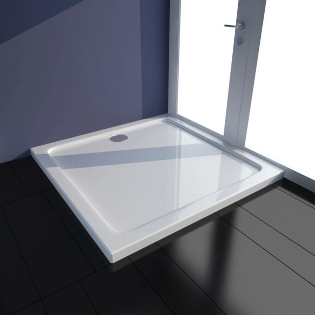 ITEMS FRANCE Receveur Acrylique 90x90 Receveur Acrylique 120x80 Angle Gauche