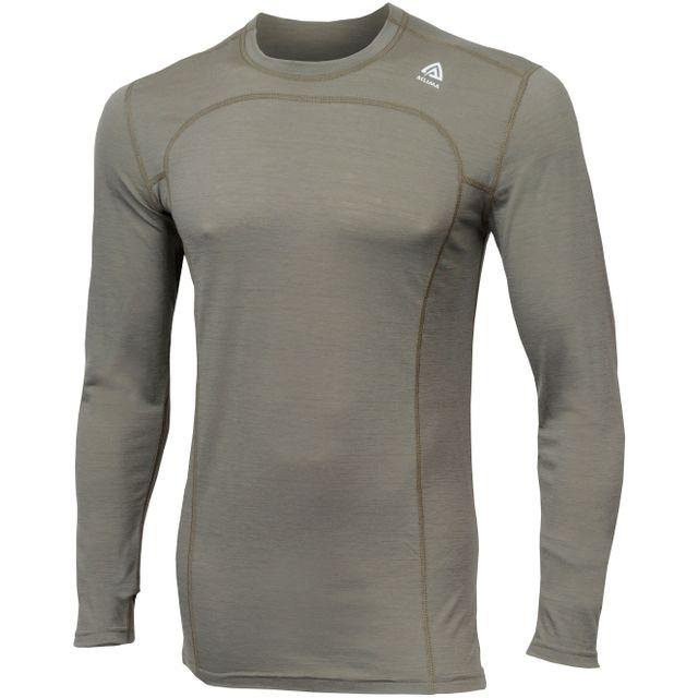 Aclima - LightWool - Sous-vêtement - olive - pas cher Achat   Vente  Sous-vêtements - RueDuCommerce 026d09cf0e4
