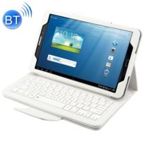 Wewoo - Clavier blanc pour Samsung Galaxy Tab A 7.0 2016 T280 / T285 Séparable Litchi Texture Étui En Cuir Flip Horizontal + Bluetooth avec Support 2 en 1