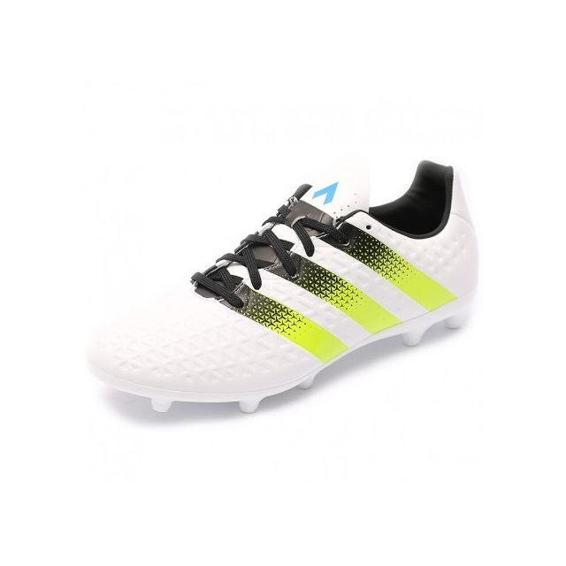 promo code e3c22 5edaf Adidas originals - Chaussures Ace 16.3 FgAG Blanc Football Homme Adidas