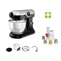 Klaiser - Le Pack Robot Pétrin Pâtisser Multifonctions Kitchen Mix Km184MEX Professional + Magic Hachoir Multi Express