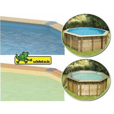 Liner 30 100 5 50 m hauteur 1 20 m pour piscine acier for Liner piscine diametre 5 50