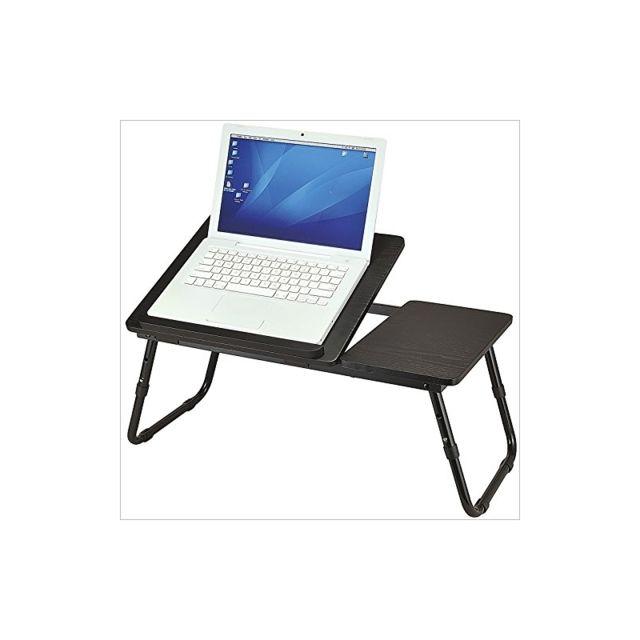 helloshop26 table tablette support de lit pour ordinateur portable 2013048 pas cher achat. Black Bedroom Furniture Sets. Home Design Ideas