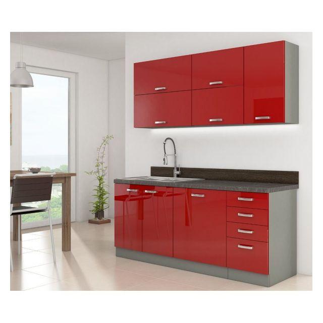 Générique Cuisine complète Rojo 180 cm