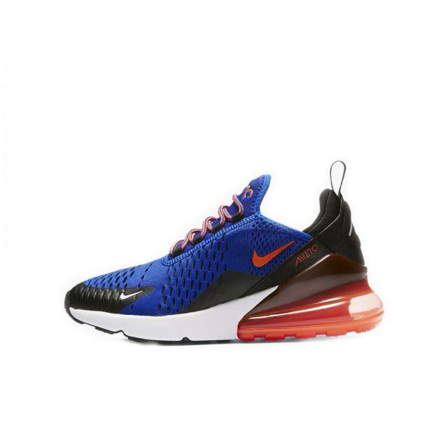 low priced f00ab cd303 Nike - Basket Air Max 270 Junior - Ref. 943345-401 - pas cher Achat   Vente  Baskets enfant - RueDuCommerce